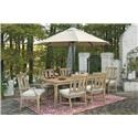 Morris Home Clare View Clare View 7-Piece Outdoor Dining Set - Item Number: 814322483