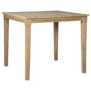 Casual Square Bar Table