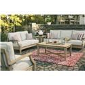 Signature Design by Ashley Clare View Sofa and Loveseat - Item Number: P801-838+835