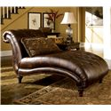 Signature Design by Ashley Claremore - Antique Chaise - Item Number: 8430315