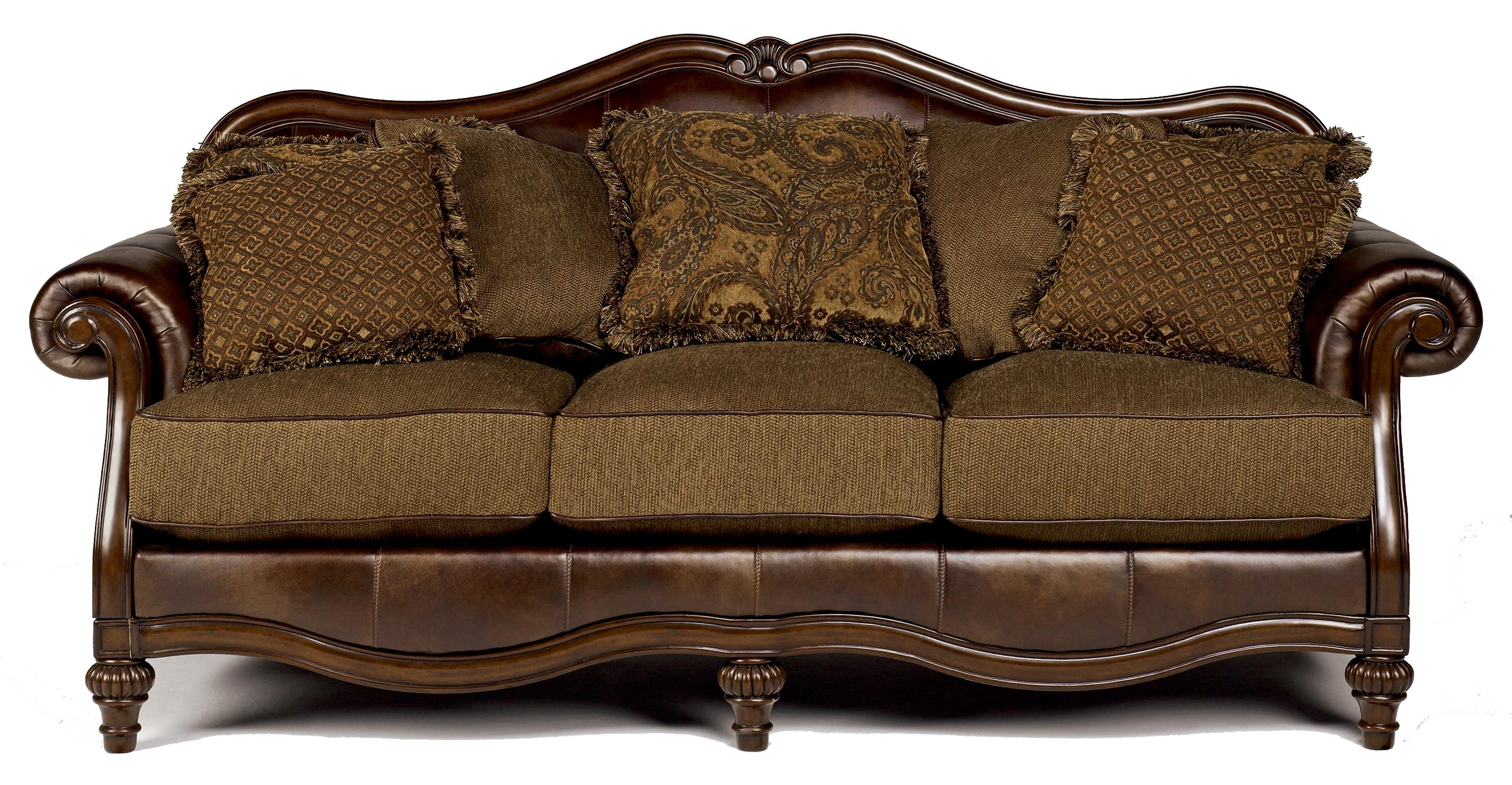 Signature Design by Ashley Claremore - Antique Sofa - Item Number: 8430338