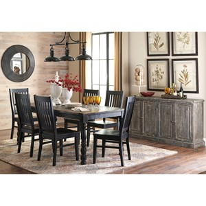 Signature Design by Ashley Clayco Bay Casual Dining Room Group