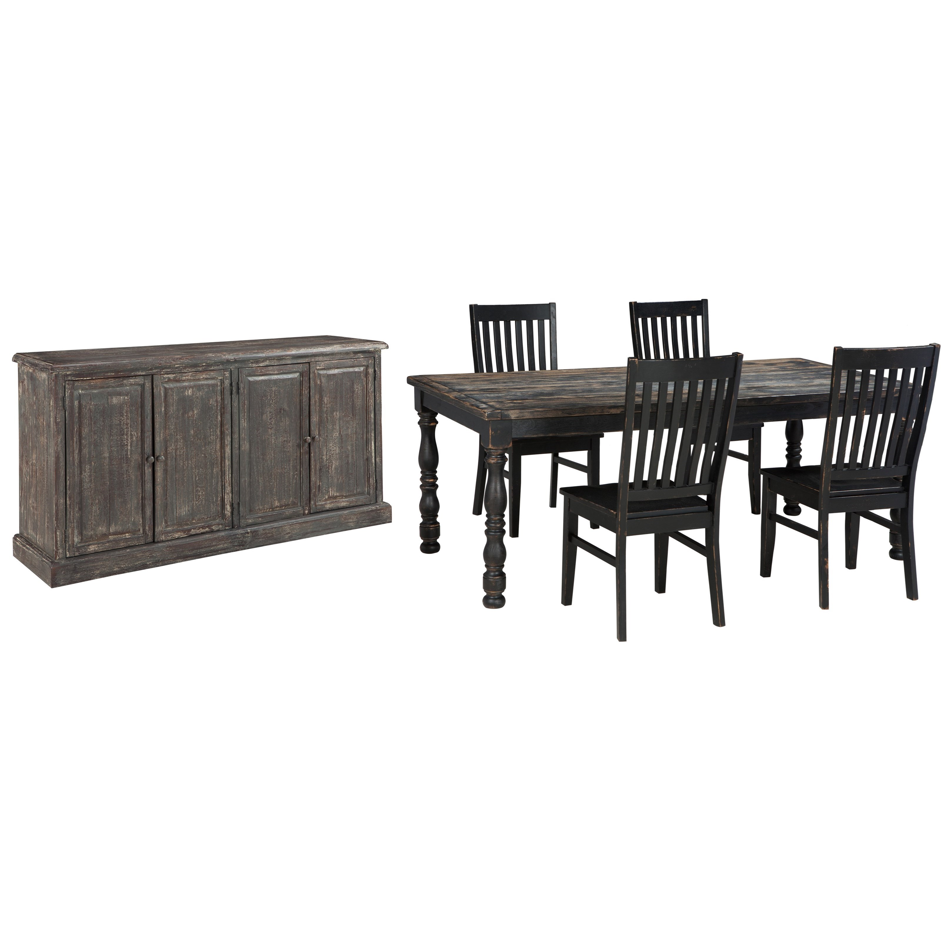 Signature Design By Ashley Clayco Bay Casual Dining Room Group Value City Furniture Casual