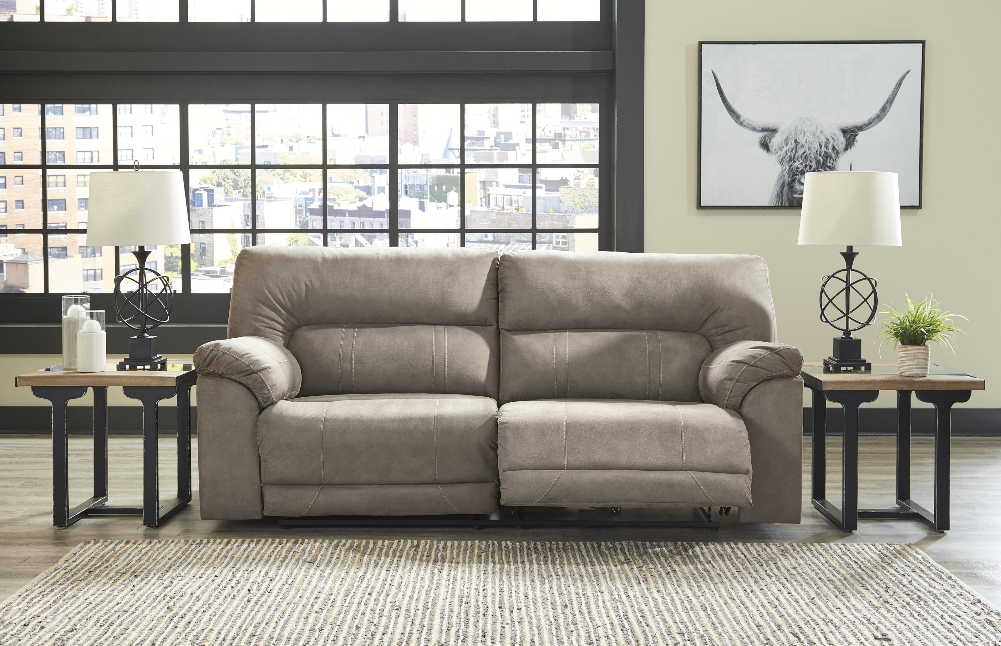 Clifford Clifford Reclining Sofa by Ashley at Morris Home