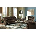 Signature Design by Ashley Clonmel Reclining Living Room Group - Item Number: 36504 Living Room Group 3
