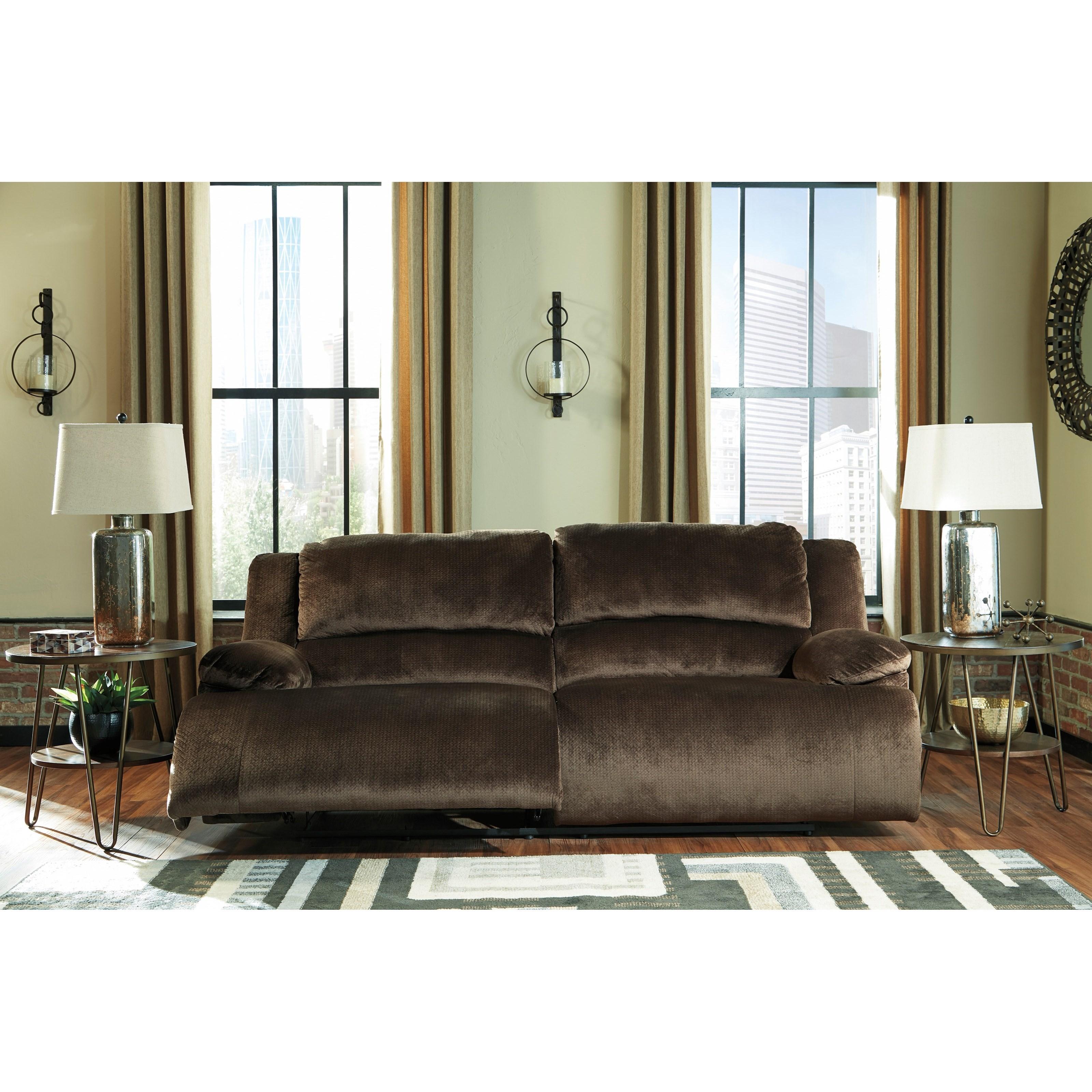Ashley Furniture Manufacturer: Signature Design By Ashley Clonmel Contemporary 2 Seat
