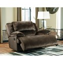 Signature Design by Ashley Clonmel Zero Wall Power Wide Recliner