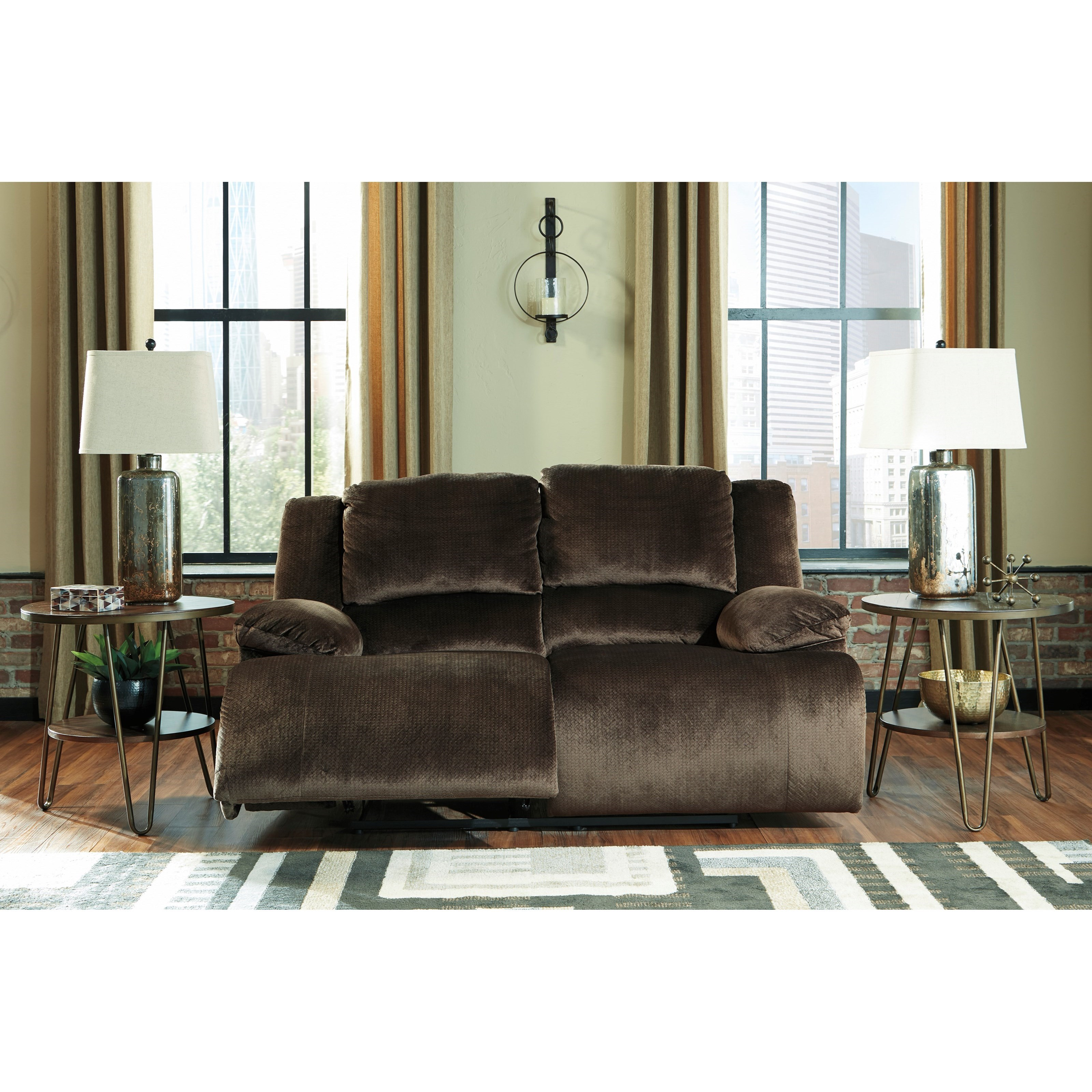 Ashley Furniture Manufacturer: Signature Design By Ashley Clonmel Contemporary Reclining