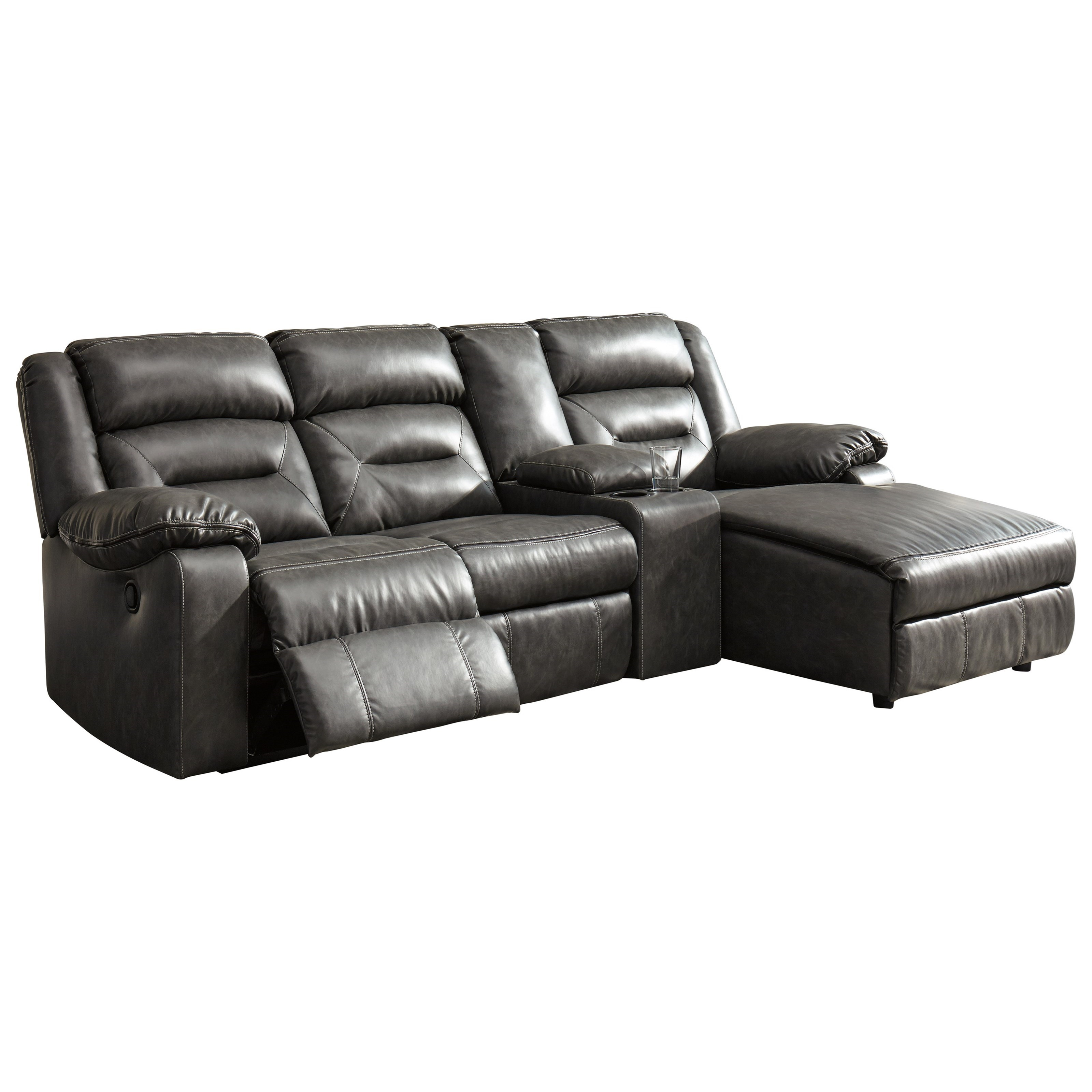 Signature Design By Ashley Coahoma 4-Piece Sectional With