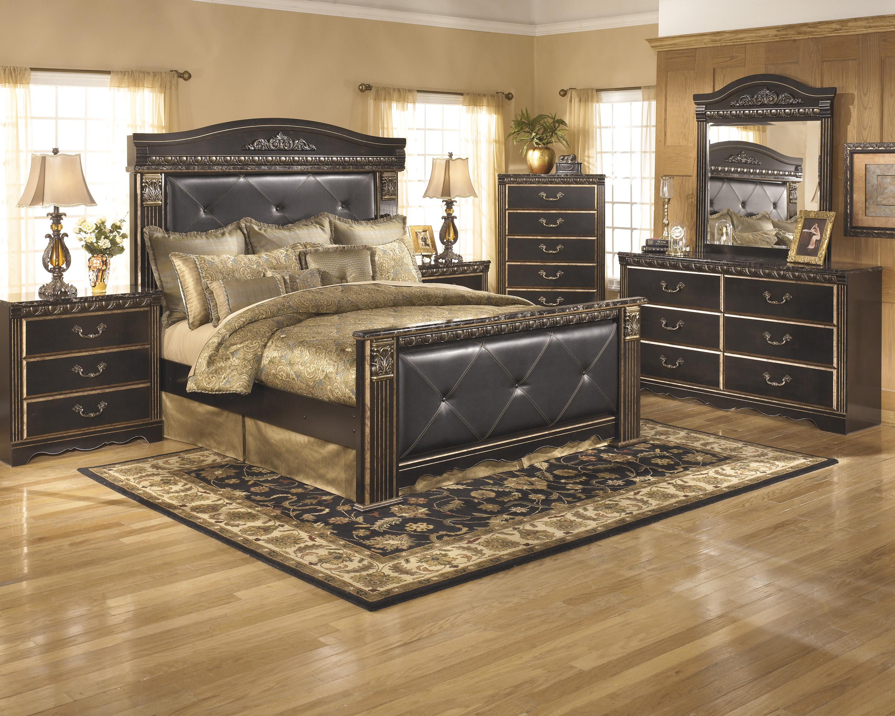 Signature Design by Ashley Coal Creek King Bedroom Group - Item Number: B175 K Bedroom Group 1