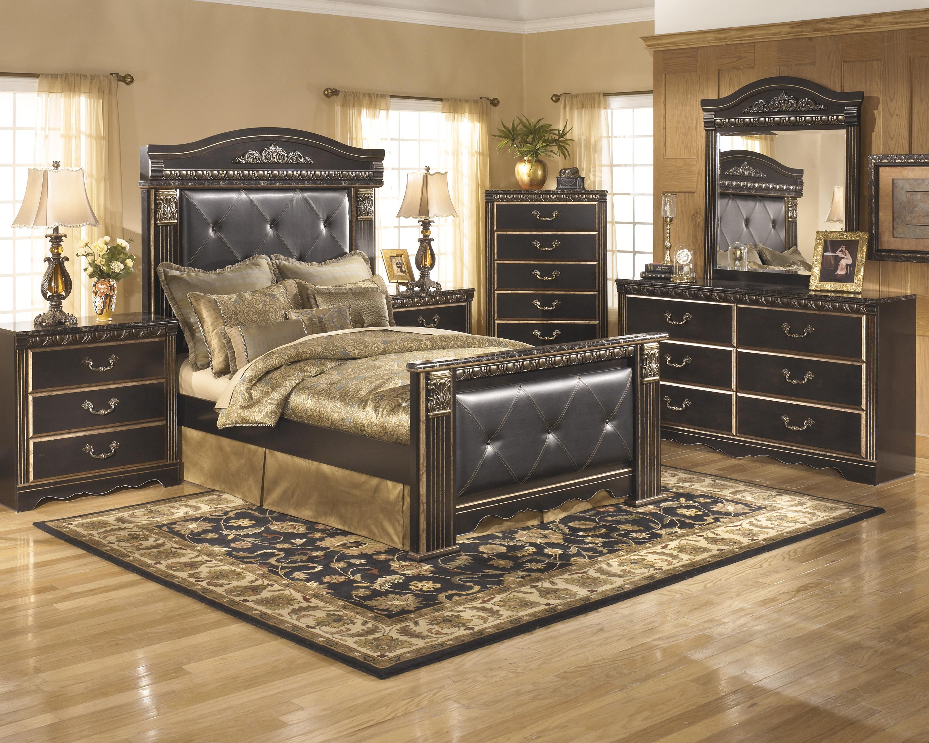 Signature Design by Ashley Coal Creek Queen Bedroom Group - Item Number: B175 Q Bedroom Group 1