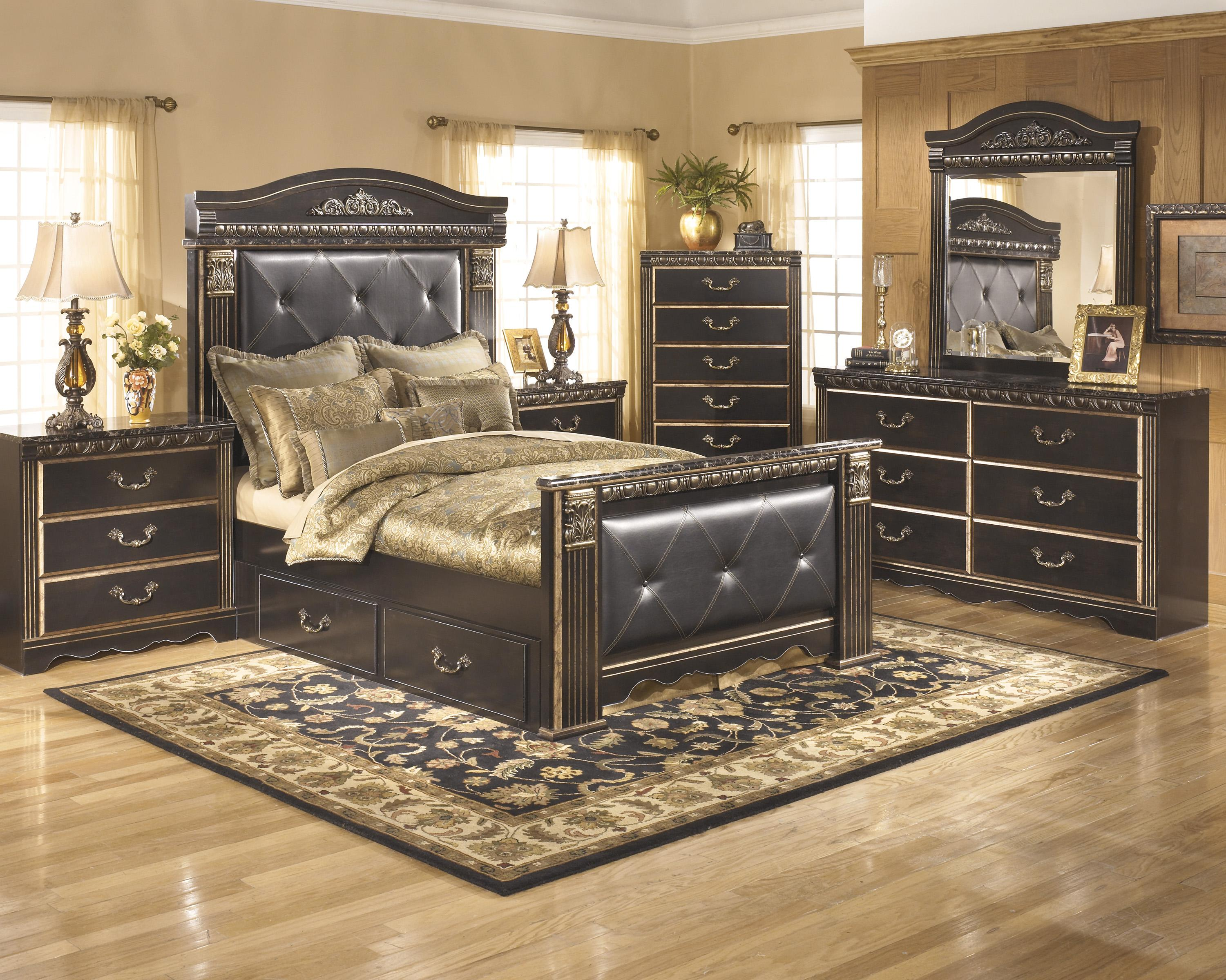 Signature Design by Ashley Coal Creek Queen Bedroom Group - Item Number: B175 Q Bedroom Group 2