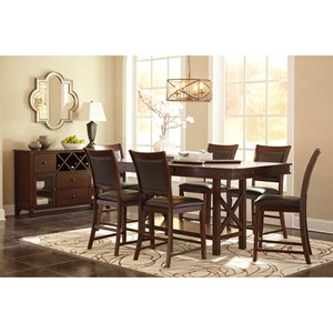 Signature Design by Ashley Collenburg Casual Dining Room Group