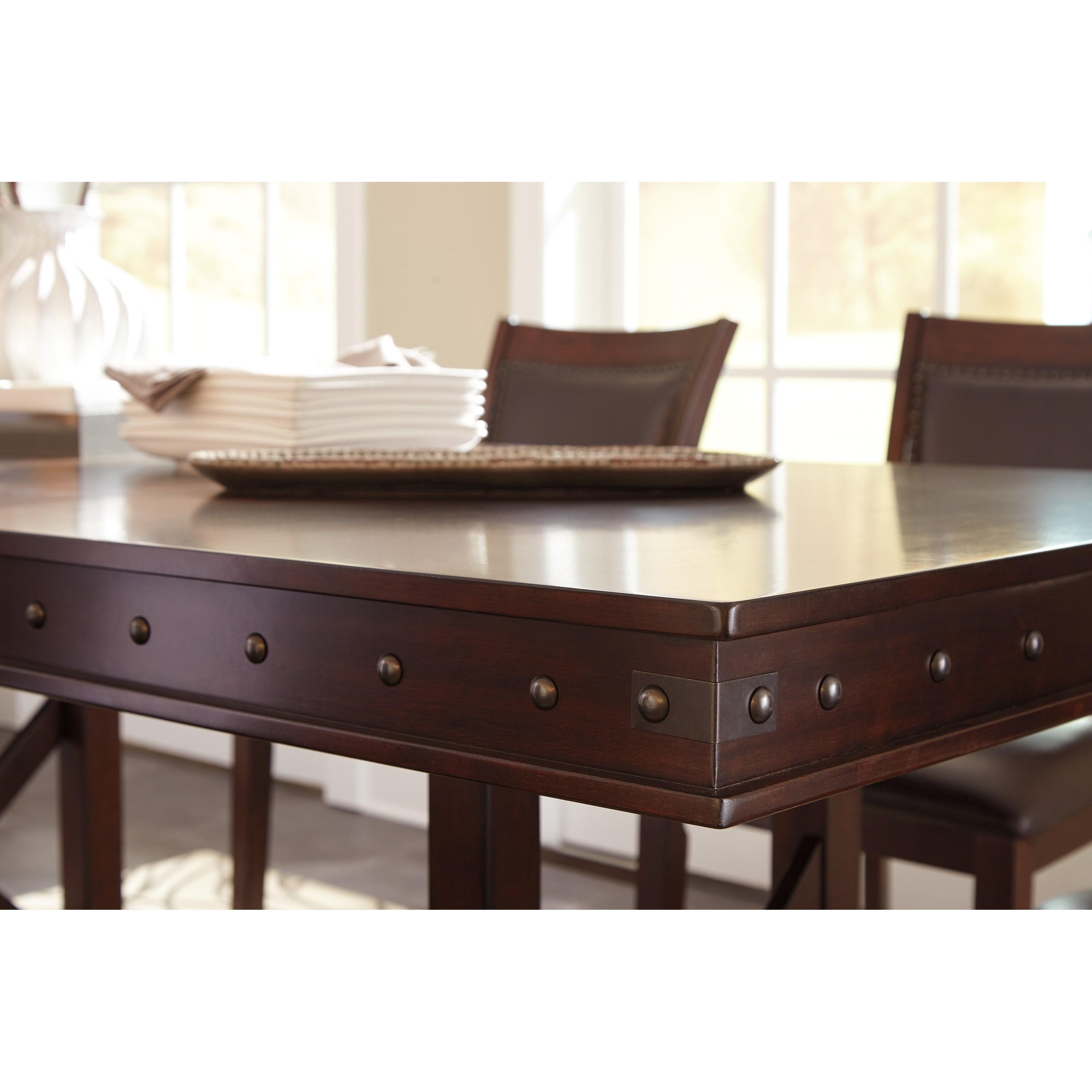 Ashley Signature Design Collenburg 7 Piece Counter Table  : products2Fsignaturedesignbyashley2Fcolor2Fcollenburgd564 322B6x124 b11 from www.dunkandbright.com size 3200 x 3200 jpeg 567kB