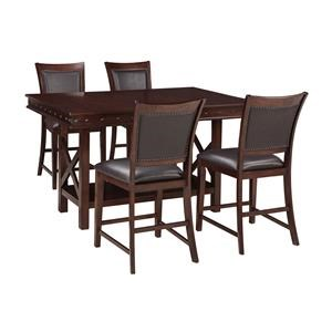 5-Piece Counter Height Table Set