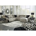 Signature Design by Ashley Colleyville Power Reclining Living Room Group - Item Number: 54405 Living Room Group 1
