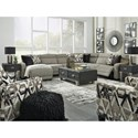 Signature Design by Ashley Colleyville Power Reclining Living Room Group - Item Number: 54405 Living Room Group 4