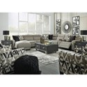 Signature Design by Ashley Colleyville Power Reclining Living Room Group - Item Number: 54405 Living Room Group 6