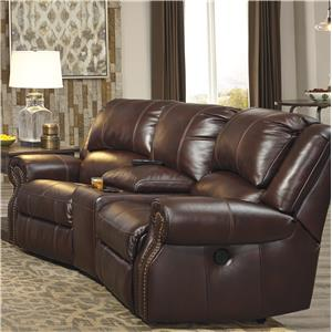 Signature Design by Ashley Collinsville 3-Piece Power Recline Theater Seating Group