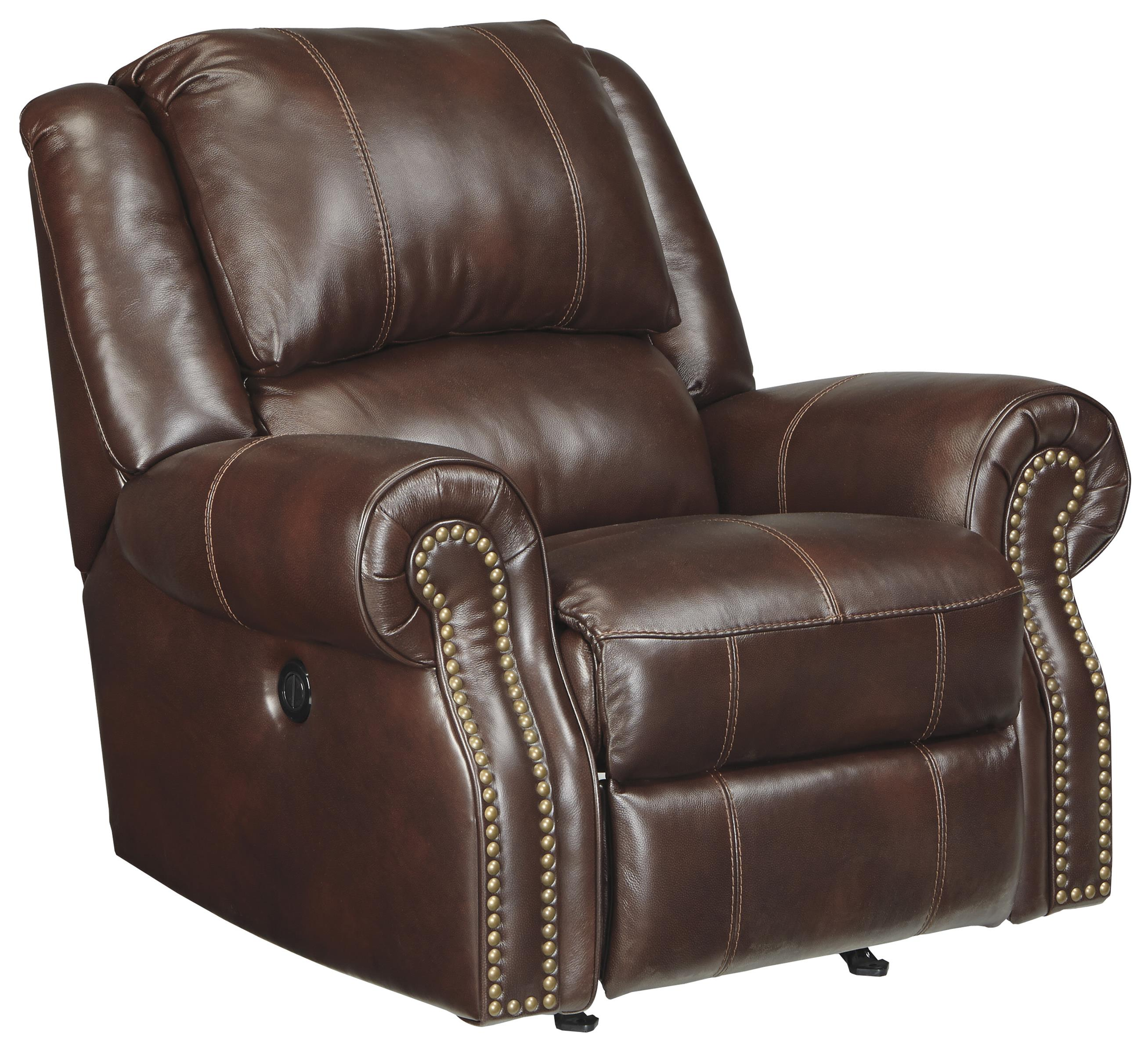 Signature Design by Ashley Collinsville Power Rocker Recliner - Item Number: U7210098