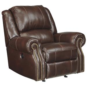 Signature Design by Ashley Collinsville Power Rocker Recliner