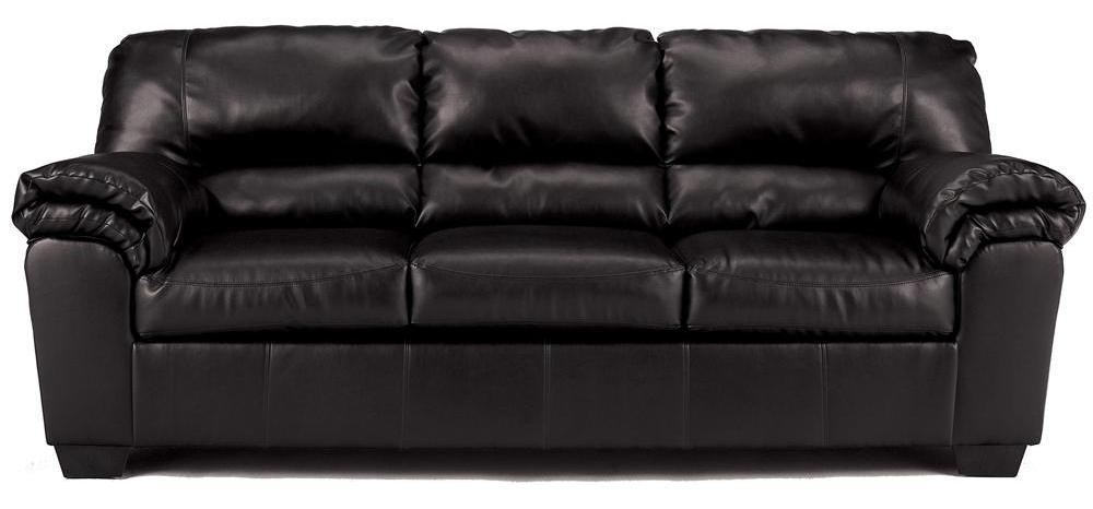 Signature Design by Ashley Commando - Black Stationary Sofa - Item Number: 6450038