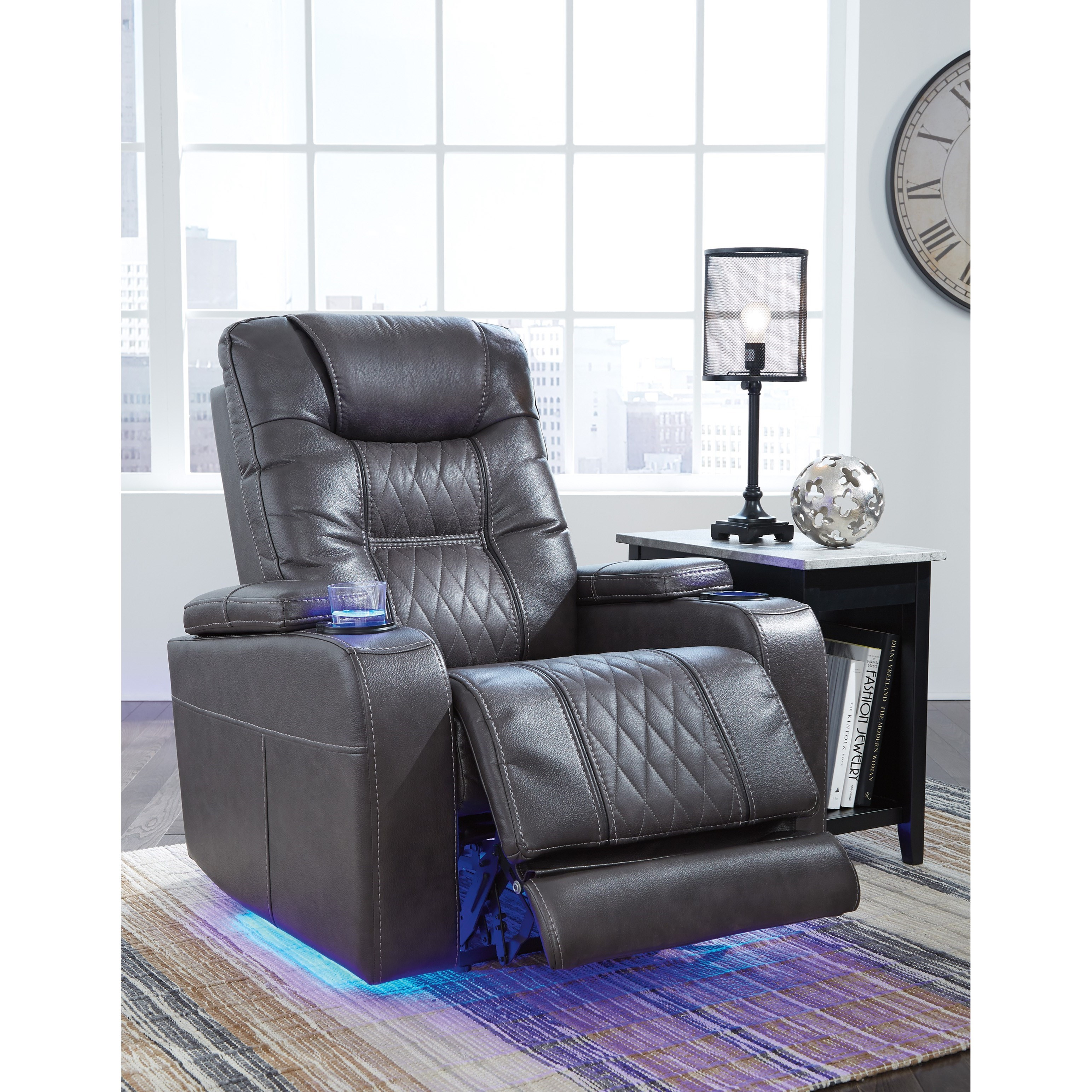 Ashley Furniture Sale In Store: Signature Design By Ashley Composer 2150613 Power Recliner