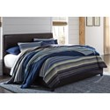 Ashley (Signature Design) Monaka King Upholstered Bed - Item Number: B020-182