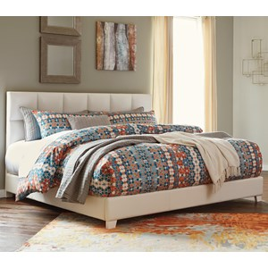 Signature Design by Ashley Monaka King Upholstered Bed