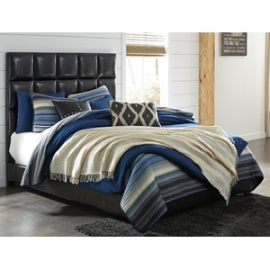 Signature Design by Ashley Contemporary Upholstered Beds Queen Upholstered Bed