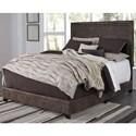 Ashley Signature Design Dolante Queen Upholstered Bed  - Item Number: B130-281