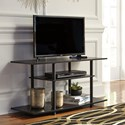 Signature Design by Ashley Cooperson Contemporary TV Stand with Open Shelving