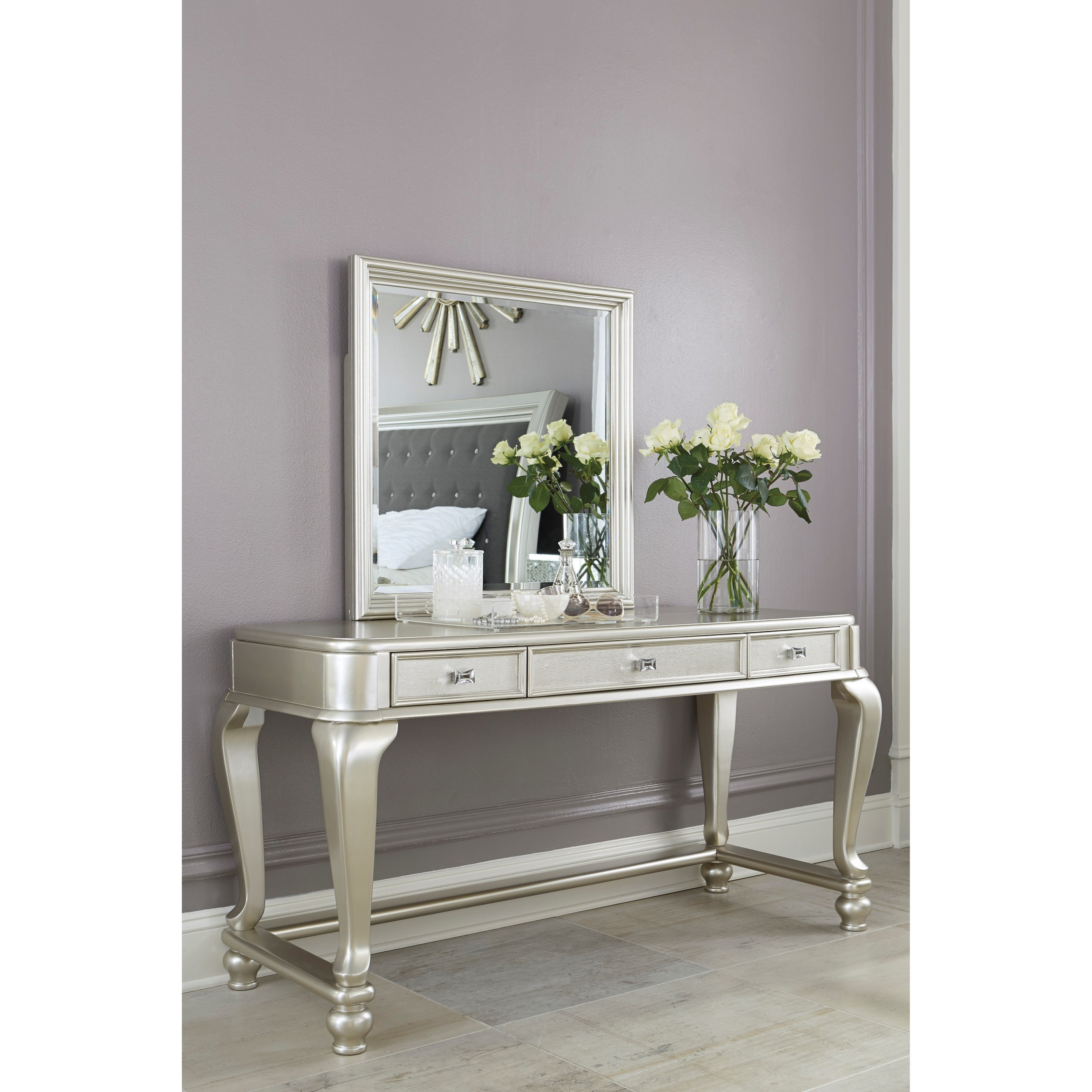 Signature Design by Ashley Coralayne Vanity Mirror - Olindeu0026#39;s Furniture - Dresser Mirrors