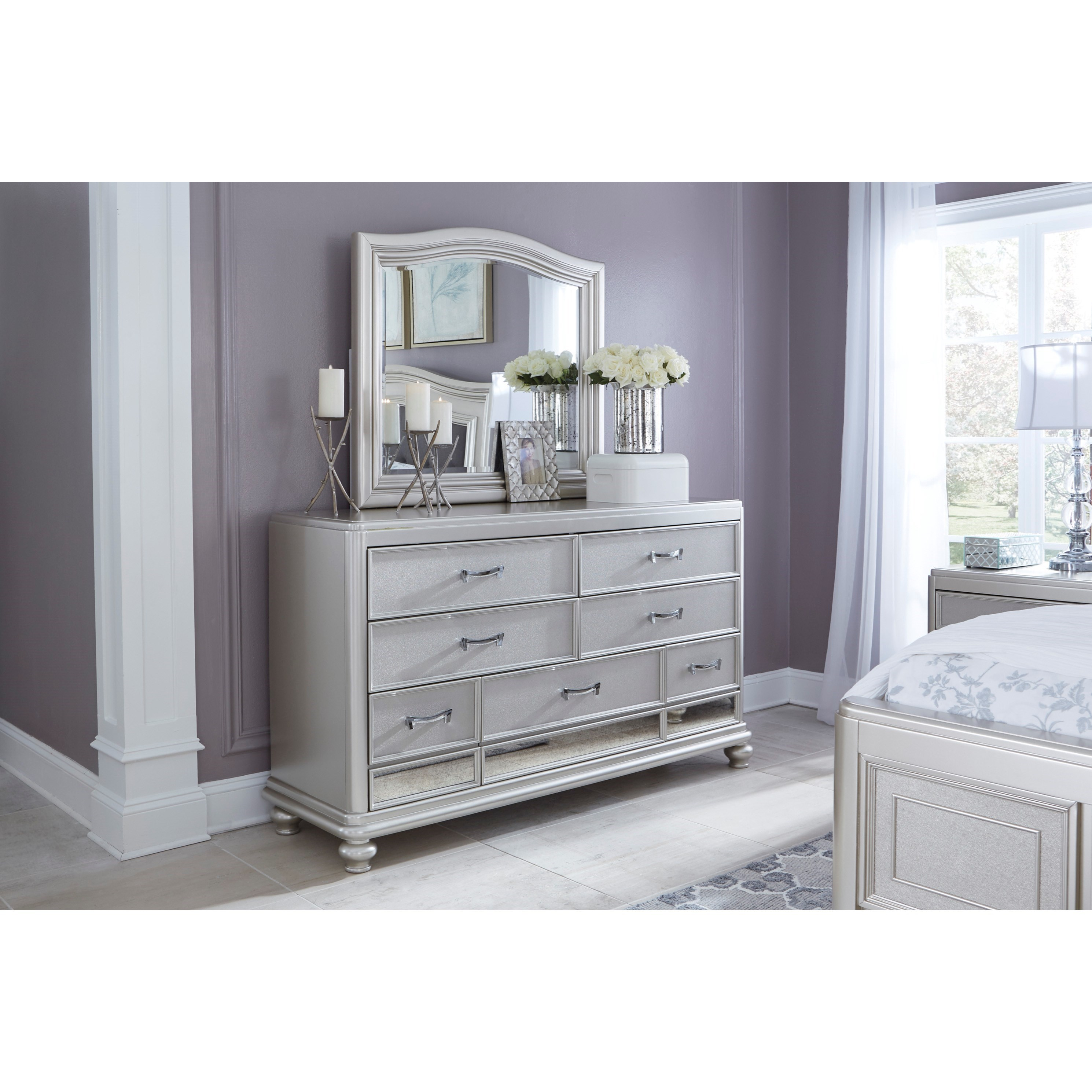 Signature Design By Ashley Coralayne Dresser & Arched