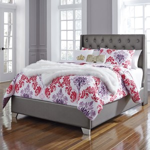 Signature Design by Ashley Coralayne Full Upholstered Bed