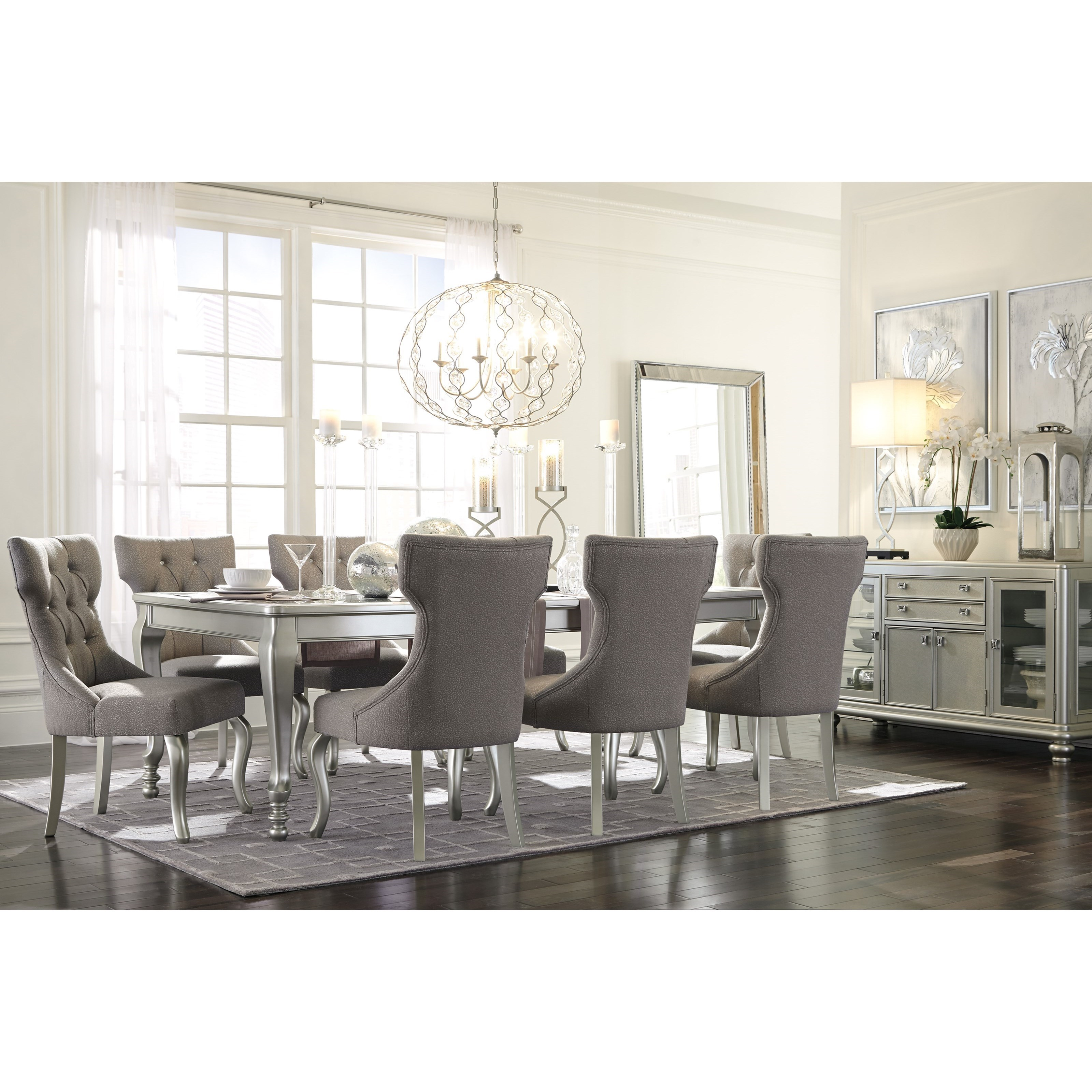 Signature Design By Ashley Besteneer Formal Dining Room: Signature Design By Ashley Coralayne Formal Dining Room