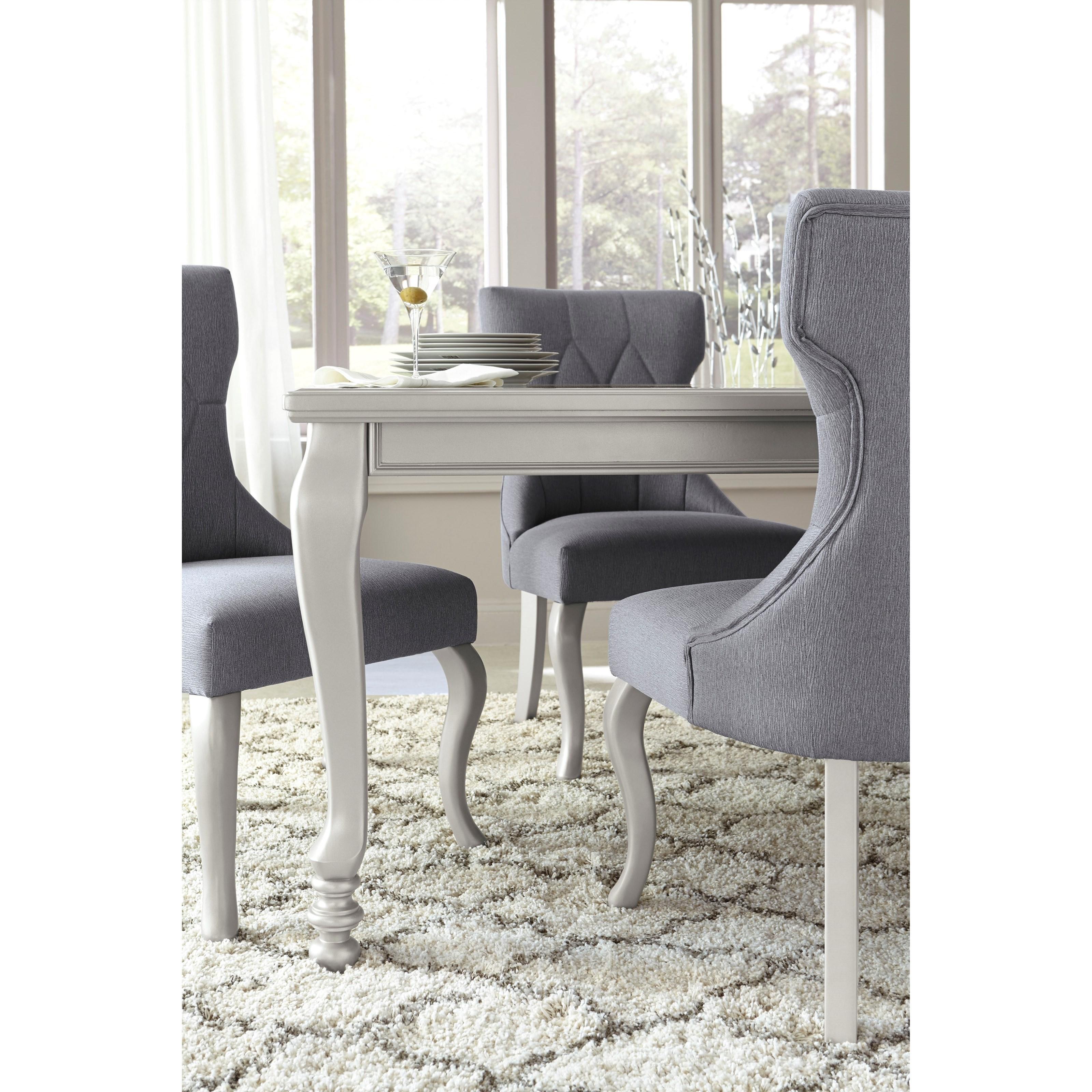 Ashley signature design coralayne 5 piece rectangular for Dining room 5 piece sets