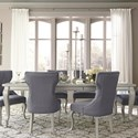 Signature Design by Ashley Coralayne 5-Piece Rectangular Dining Room Extension Table Set - 4 Chairs Included in Set. Additional Chairs Sold Separately.