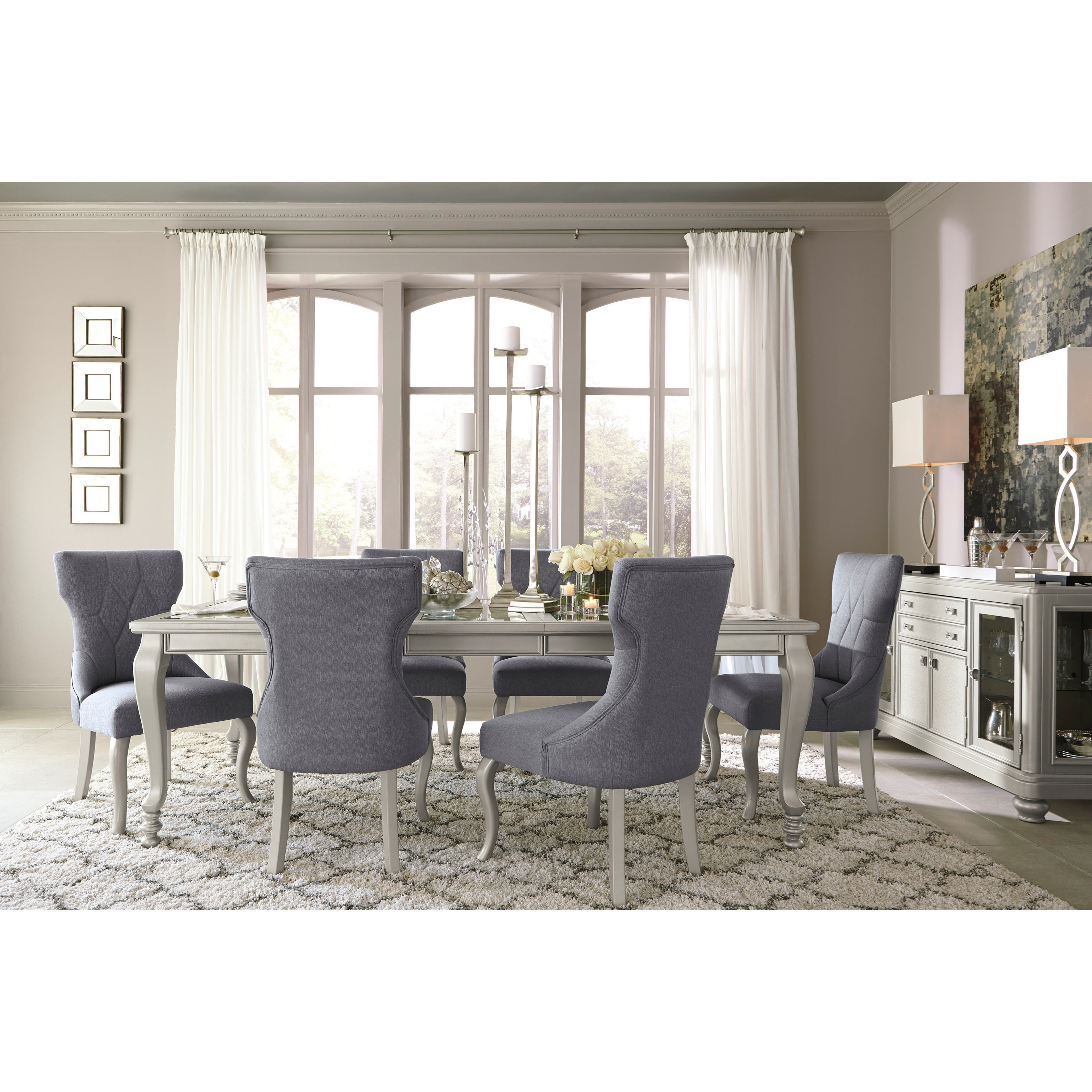 Ashley D Coralayne Dining Room Table Set