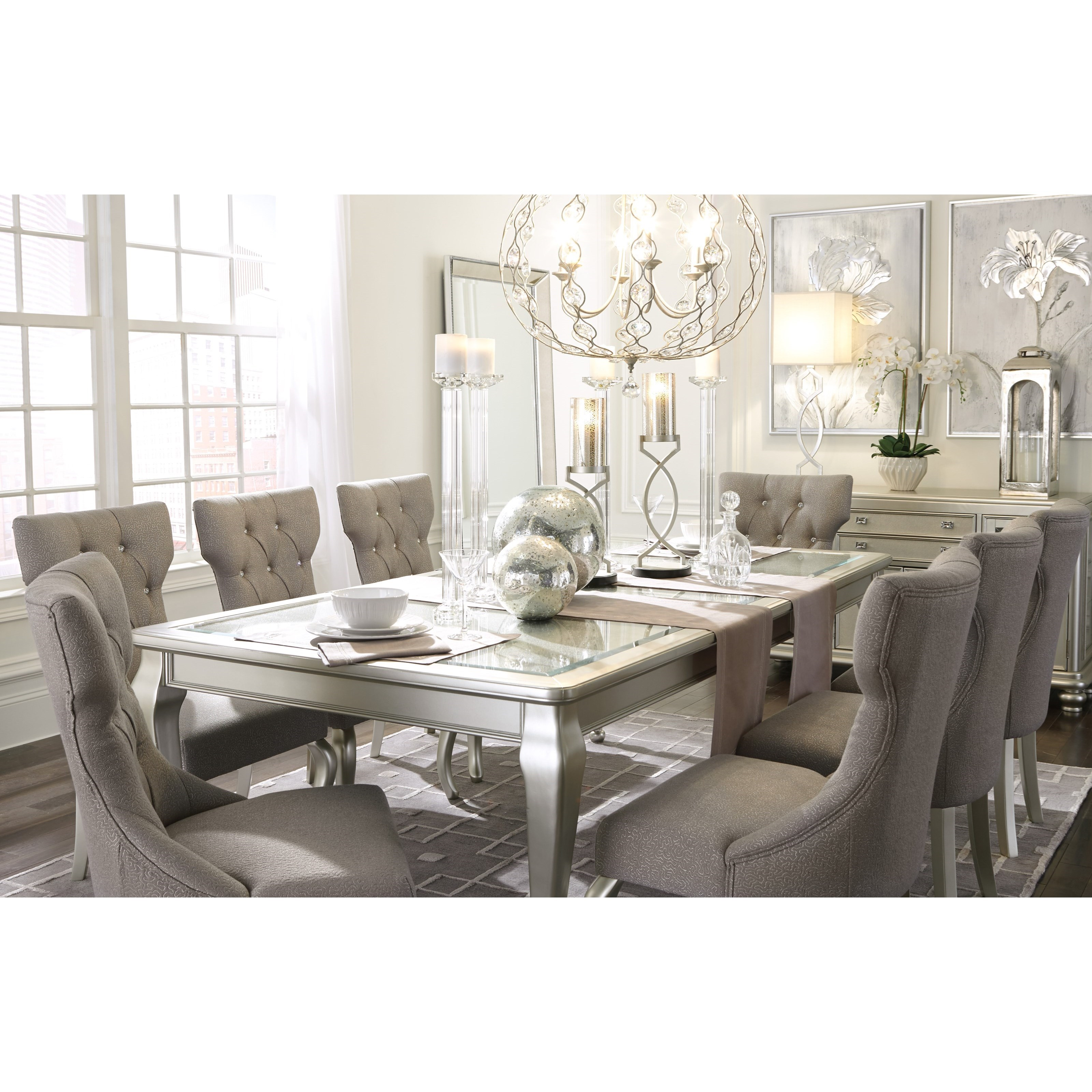 Ashley S Nest Decorating A Dining Room: Signature Design By Ashley Coralayne 7-Piece Rectangular