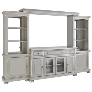 Signature Design by Ashley Coralayne 4 Piece Wall Unit