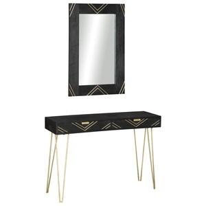 Console Table & Mirror