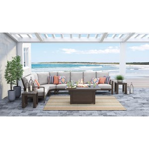 Ashley (Signature Design) Cordova Reef Outdoor Sectional Group