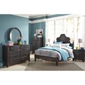 Ashley (Signature Design) Corilyn Full Bedroom Group - Item Number: B207 F Bedroom Group