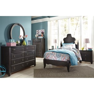 Signature Design by Ashley Corilyn Twin Bedroom Group