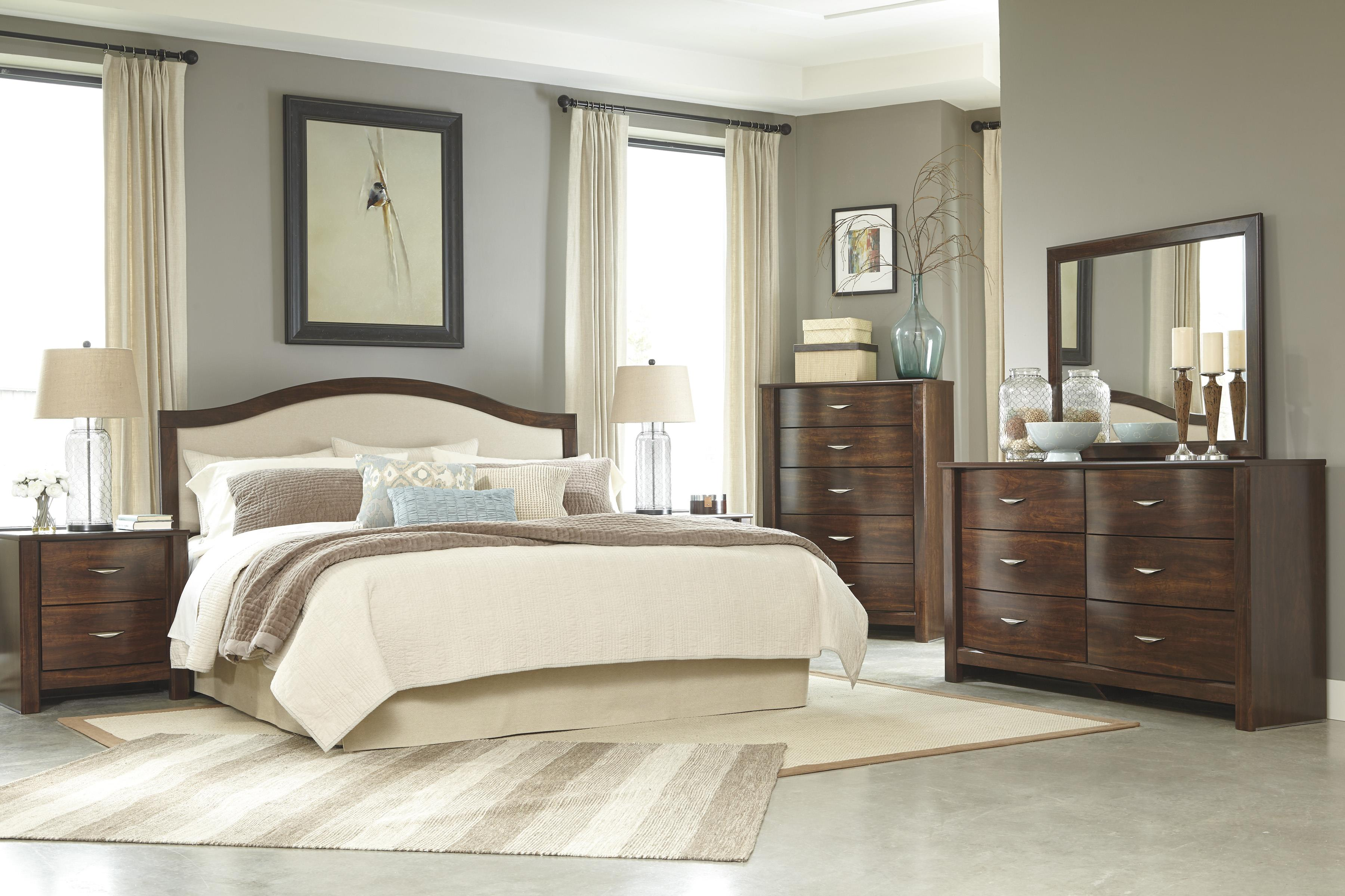 Signature Design by Ashley Corraya King Bedroom Group - Item Number: B428 K Bedroom Group 3
