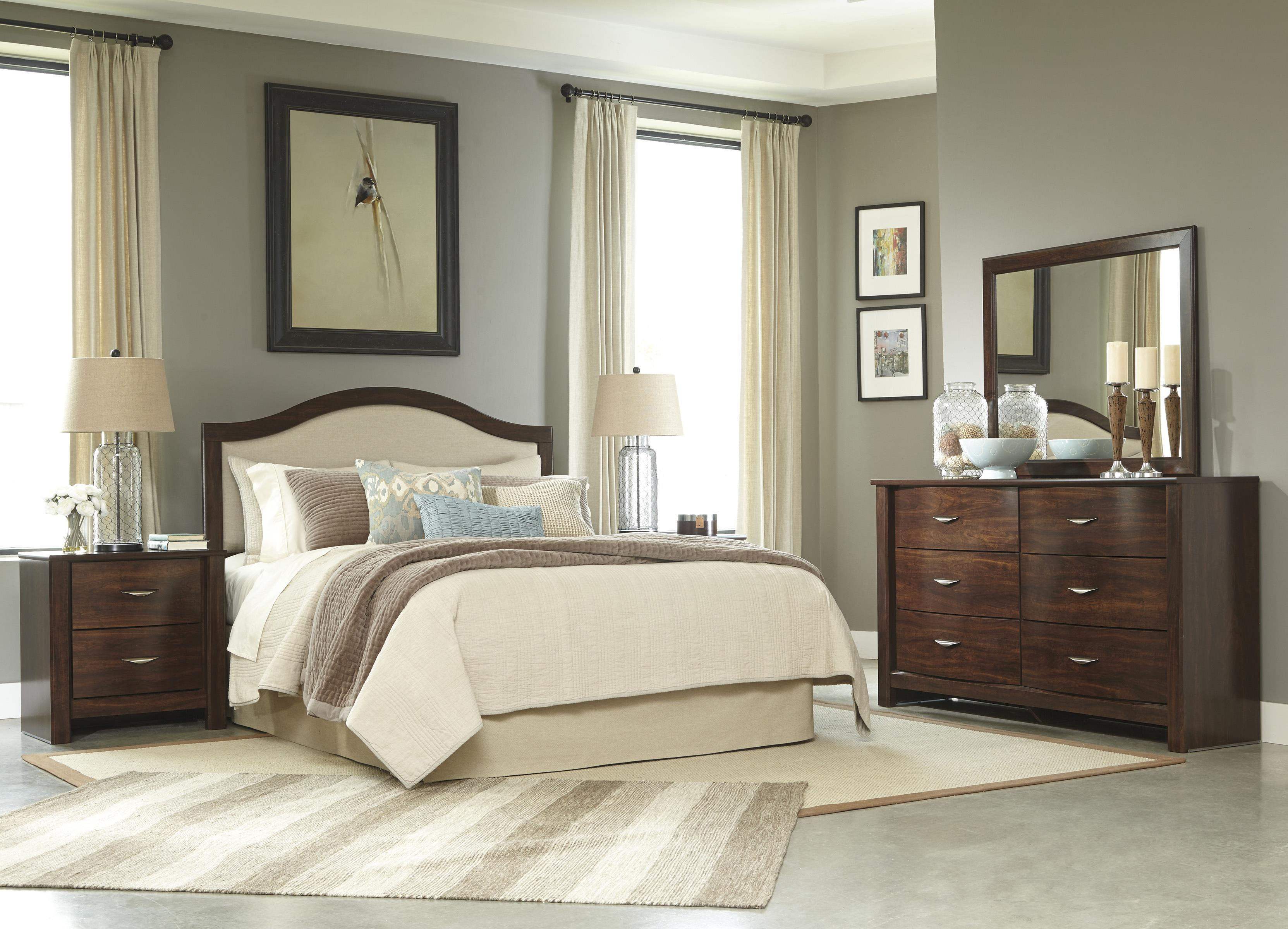 Signature Design by Ashley Corraya Queen Bedroom Group - Item Number: B428 Q Bedroom Group 1