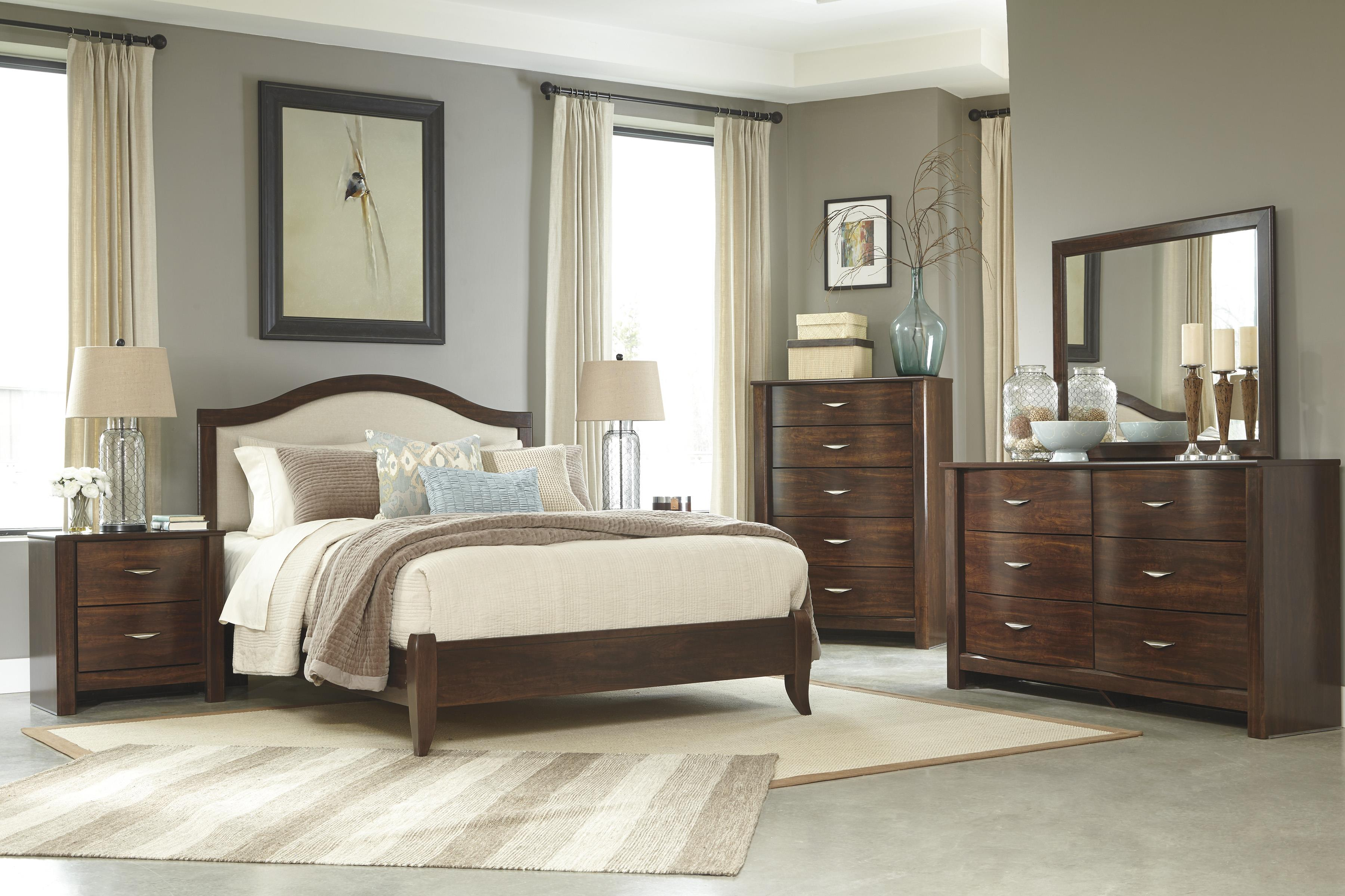Signature Design by Ashley Corraya Queen Bedroom Group - Item Number: B428 Q Bedroom Group 4