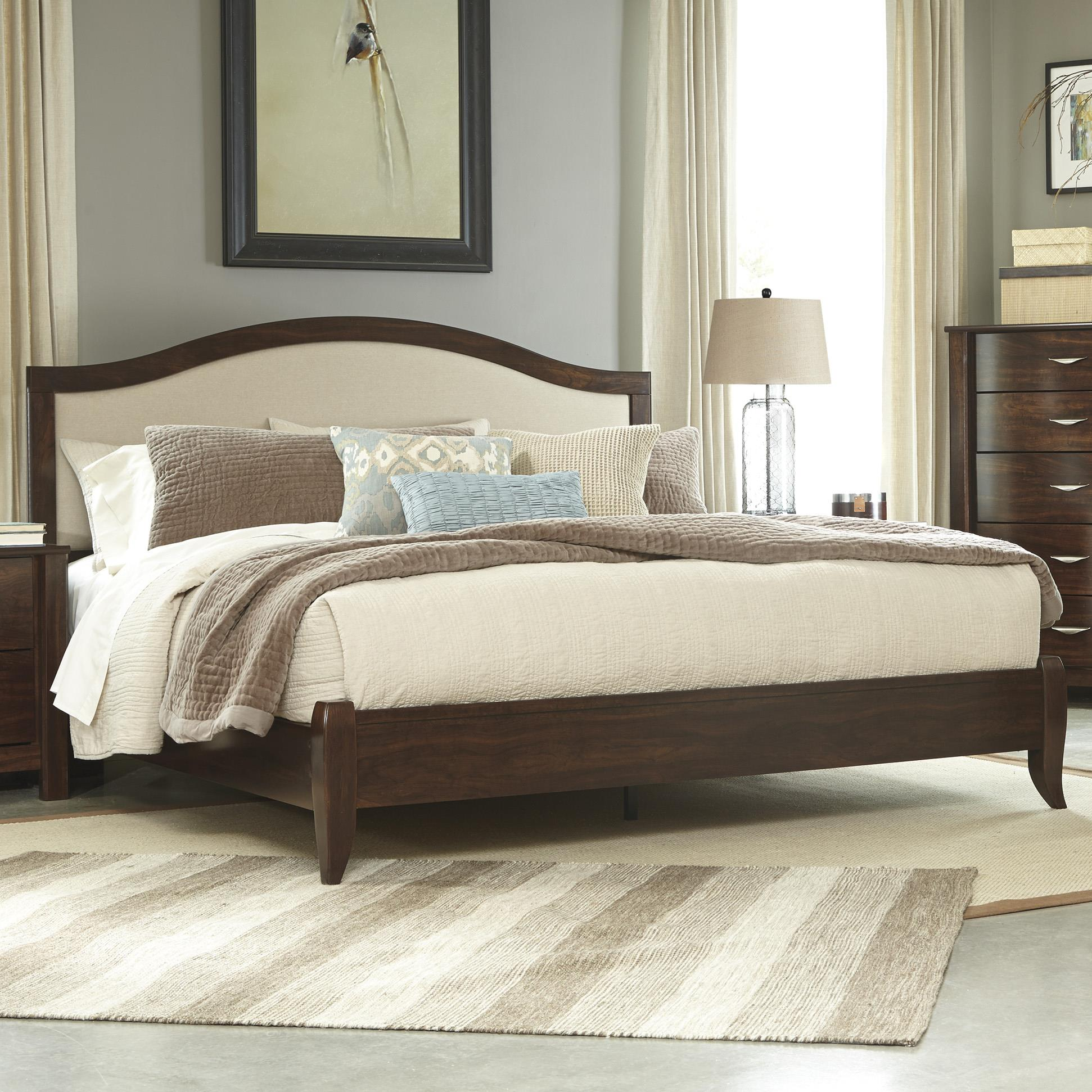 Signature Design by Ashley Corraya King Upholstered Bed - Item Number: B428-58+56