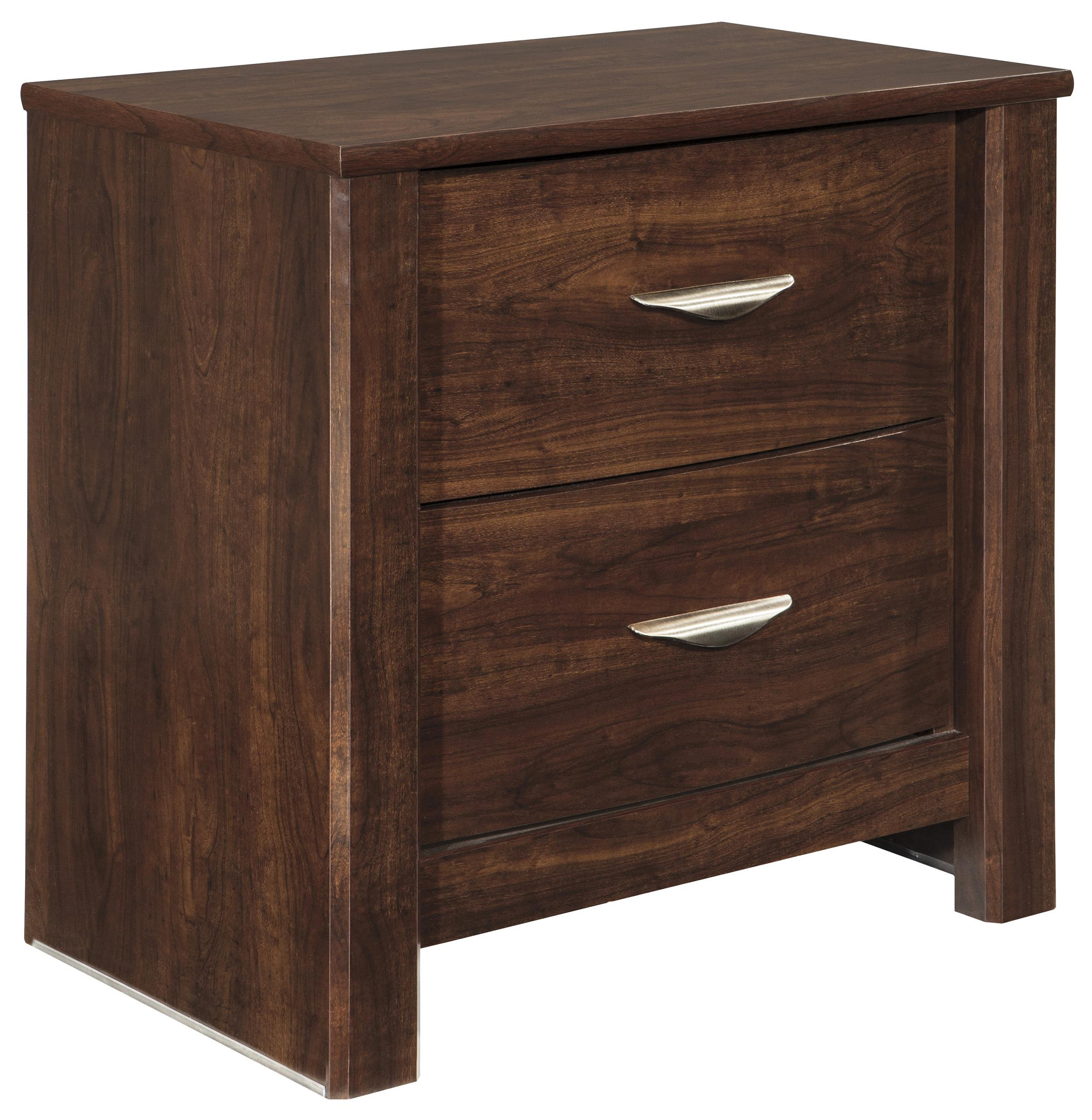 Signature Design by Ashley Corraya Two Drawer Night Stand - Item Number: B428-92